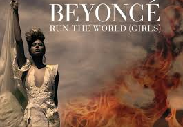 Beyonce, who run the world? Girls. from bitchmedia.org