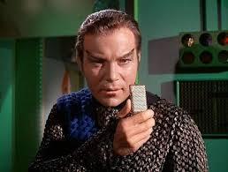 Kirk as a Romulan, from trektapestry.com