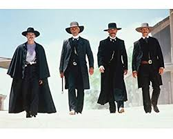 The four leads of the movie Tombstone, from amazon.com