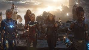 all female avengers shot