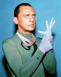 Frank Gorshin as The Riddler from the Batman TV series.