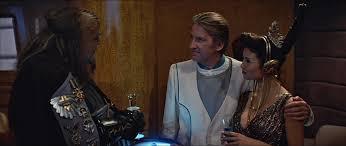 The Klingon,  Romulan, and Terran representatives on Nimbus III