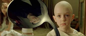 the kid from the matrix bends the spoon