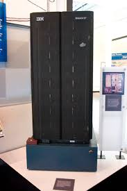 an image of the servers that store Deep Blue, the IBM supercomputer
