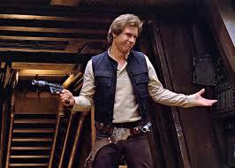 Han Solo shrugging his shoulders