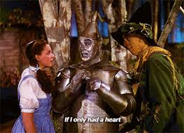 """If I only had a heart"" The Tin Man with The Scarecrow and Dorothy Gale"
