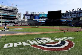 An image of opening week from Yankee Stadium in NY.