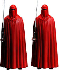 A picture of two of the Emperor's imperial royal guard from Star Wars.