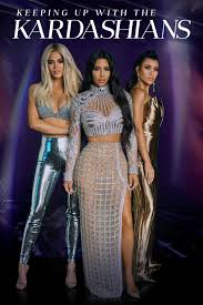 "An image of a poster for ""keeping up with the kardashians"""