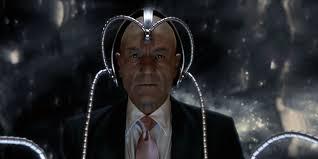 Sir Patrick Stewart as Professor X from the X Men