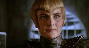 Sela, the Romulan, who looks much like Tasha Yar