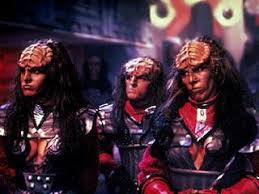 The two sisters and one son of the Klingon Duras