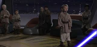 The Younglings in the Jedi temple from EPisode III.