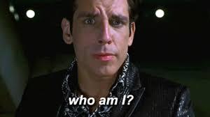 """""""who am I?"""" asks Ben Stiller as Zoolander"""