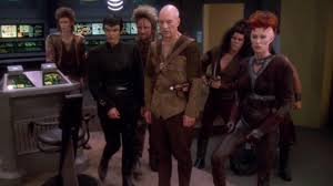 Picard and BAran's crew at the time of mutiny