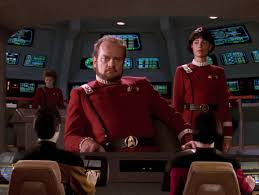 Kelsey Grammer as the captain of the Bozeman.