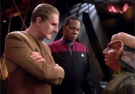 Odo and Sisko question Rom