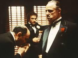 The OG Godfather having his ring kissed