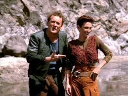 O'Brien and Kira on Cardassia IV