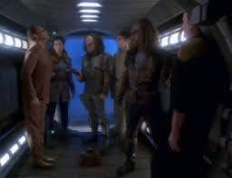 2 Klingons and a Trill take over Odo and O'Brien