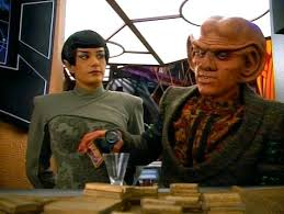 Sakonna the Vulcan and Quark the Ferengi