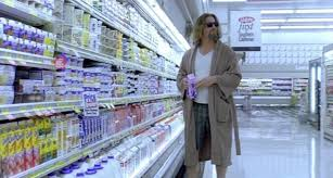 The Dude from The Big Lebowski in the grocery store