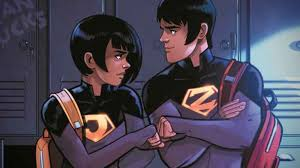 An image of the Wonder Twins.