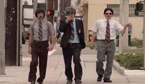 The Beastie Boys in their SABOTAGE music video