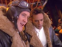 O'Brien and Bashir straight out of the holosuite as WWII pilots