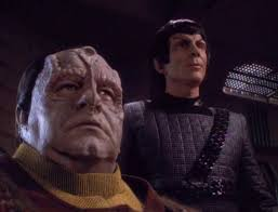 Enabran Tain and Lovok the Romulan