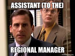 Assistant (to the) Regional Manager