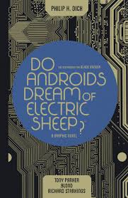 Do Androids Dream of Electric Sheep? cover by PKD