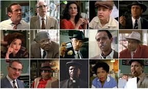 The whole cast in their 1953 alter egos [O'Brien, Quark, Dax, Nog, Weyoun (row 1)] [(row2) Kira, Sisko, Dukat, Bashir, Worf][(row3) Odo, Jake, Joseph, Yates, Martok]