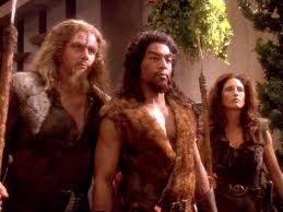 3 Klingons on Gaia