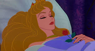 Sleeping Beauty, asleep