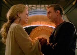 Dukat as a Bajoran and Winn