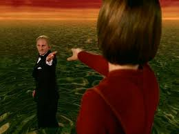 Odo leaving Kira behind to go into the great link