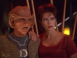 Rom and Leeta SHOCKED at the Nagus announcement