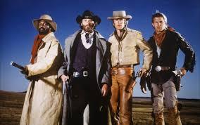 The four leading men of SILVERADO