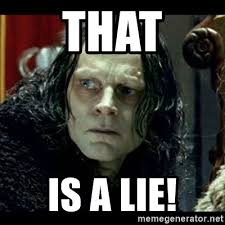 "Grima Wormtongue - ""That is a lie!"""