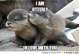 I am otterly in love with you