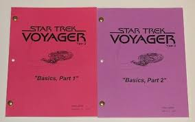 Voyager scripts sitting side-by-side