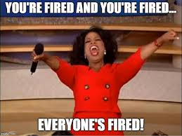 """oprah """"you're fired"""""""