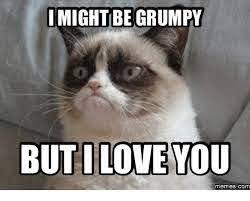I might be grumpy, but I love you... Grumpy Cat