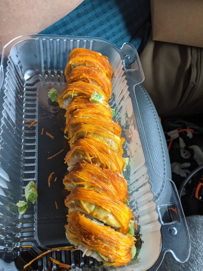 gobble gobble ooshi roll