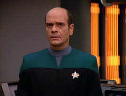 Robert Picardo as the EMH in sickbay