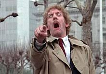 "the last scene of ""invasion of the body snatchers"" from 1978"
