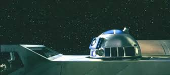 R2D2 in a starship