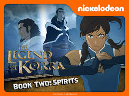 legend of korra: book 2 spirits