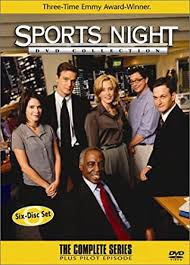 sports night DVD cover